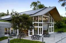 Greenhouse Schoolhouses - The Branson School Student Commons is a Breath of Fresh Air