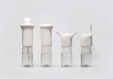water bottles by francesco zorzi