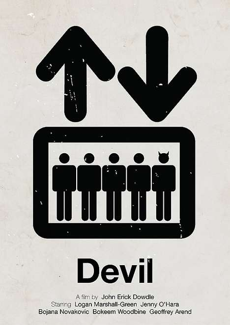 Super Simplistic Posters - Victor Hertz Creates Fantastic Minimalist Movie Posters