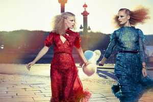 The Double-Take Ilse De Boer Marie Claire Italia Spread