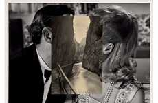 Superimposed Postcard Photography