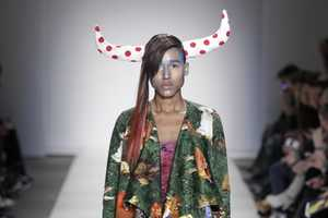 The Bas Koster Fashion Show Was Over the Top and Wacky