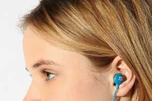 The M & M Ear Buds Deliver Sweet Sounds to Your Ears