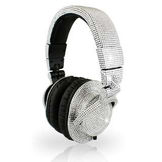 Crystallized Audio Accessories - The Swarovski DJ Headphones Provide Sparkling Sound Quality