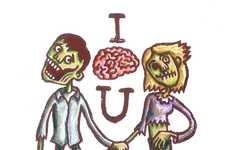 Gory Romance Cards