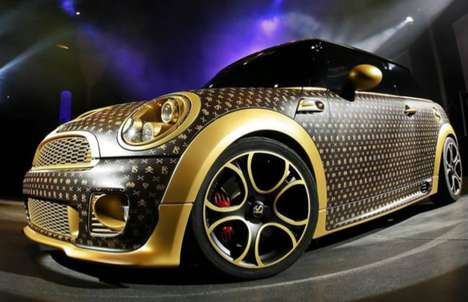 Haute Couture Coups - The FS Monogramed Mini Cooper is a 252hp Louis Vuitton Handbag