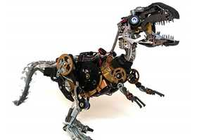 Ann P. Smith's Recycled Critter Creations are Amazing