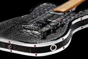 The Kaged Alligator Guitar by Rock Royalty Will Put You in the Spotlight