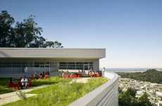 Cliffhanging Green Roofs - The UCSF Institute for Regeneration Medicine Contours With Its Landscape