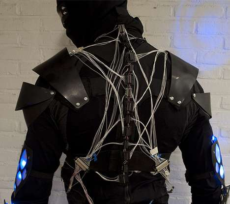 Sci-Fi Superhero Suits - These DIY Axon Suits were Created by Inventive Students