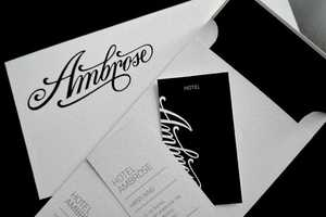 Hotel Ambrose Branding Puts a Spiffy Atmosphere to Paper
