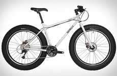 Snowy All-Terrain Bicycles - The Surly Pugsley Bike Will Let You Ride Over Almost Anything