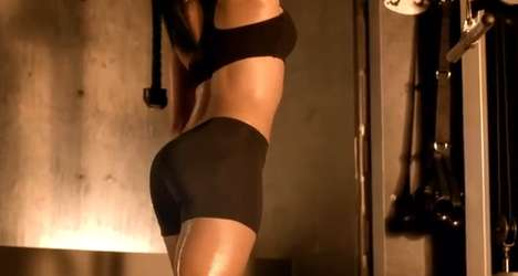 Kim Kardashian  2011 Super Bowl Sketchers Commercial