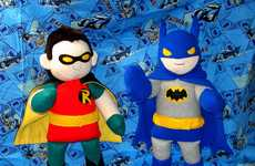 Cute Comic Book Plushies - 'Handmade Stuffs' Makes Heroes & Villains Look Adorable