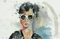 Haute Watercolor Lookbooks