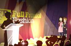 Interactive Fashion Gaming - 'Catwalk Countdown' by Full Frontal Fashion Will Blow You A
