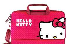 Adorable Feline Carriers - This Hello Kitty Laptop Bag Would Make a Great Valentines Day Gift