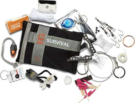 Extreme Survival Kits (UPDATE) - The Gerber Bear Grylls Ultimate Kit is Ready for Anything
