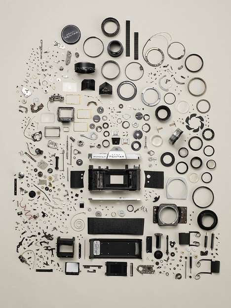 Beautifully Exploded Gadgets