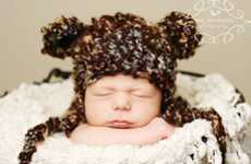 Sweet Sleeping Portraits - Polkadotposh's Sweet Yarn Creations Feature Adorable Baby Photos