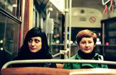 Public Transit Photography - Andreas Jakwerth Takes Awesome Portraits of Random Individuals