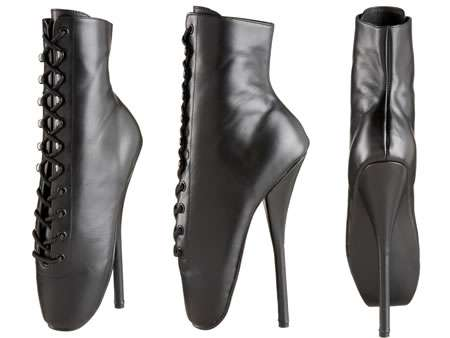 Ballet-Inspired Stilettos - These Pleaser Women's Ballet Ankle Boots Will Make Any Girl Twirl