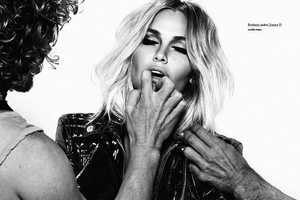 Lara Bingle Gets Rough for Oyster Issue 91