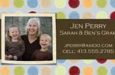 Parent Identity Profiles - Mommy Cards Business Cards Are Wallet-Size Family Trees