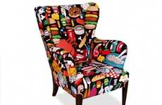 The AK-LH Food Wingchair is a Feast for Your Fanny