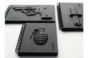 MollaSpace Armed Notebooks Threaten Unprivy Prying Eyes