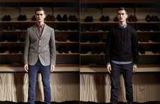 Classy Cool-Weather Ensembles - The Velour AW11 Menswear Preview Showcases Dapper Duds
