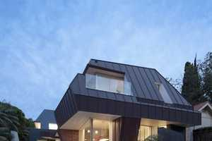 The DPR House by MCK Architects Features Interestingly Angled Designs