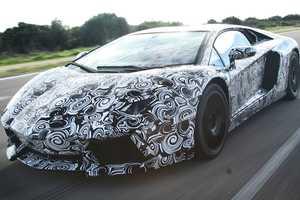 A Sneak Peek at the Lamborghini Aventador LP700-4
