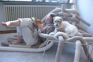The TubeMe Chair by Ellinor Ericsson is a Unique Modular Piece