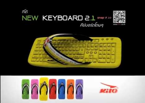 Kito Keyboard Slippers