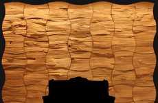 Wavy Wooden Walls