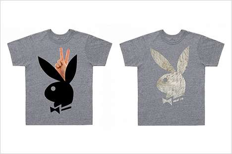 Charitable Playboy Fashions - These Marc Jacobs For Playboy Shirts Support Designers Against AIDS