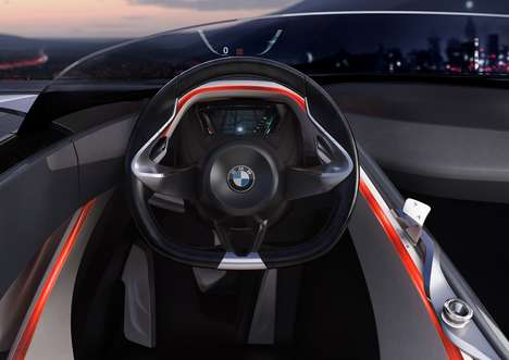 BMW Vision Teaser Display