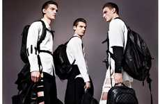 Cutout Men's Trousers - The VMAN First Look at Spring Trends Editorial Has Dapper Male Style