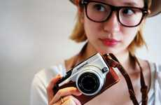 Chic Camera Straps - The Olympus XZ-1 Holder is a Stylish Photography Accessory