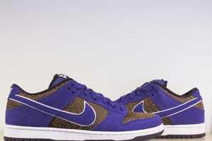 The Adventurous Nike SB Dunk Low Premium Purple Safari Shoes