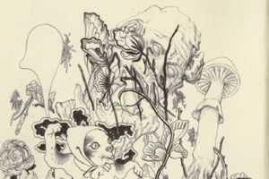 The James Jean Sketches are Full of Darkly Creepy Characters