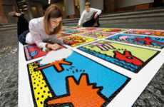 Pop Art Puzzles - Keith Haring: Double Retrospective is the Largest Jigsaw Puzzle Ever Made