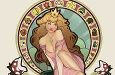 Gamer Pin-Ups - Megan Lara Reimagines Female Nintendo Characters