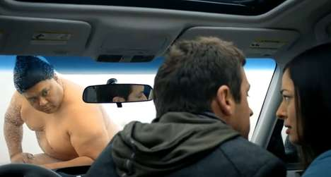 Seductive Sumo Advertising - This 2011 Subaru Forester Commercial is Heavy-Hitting Hilarity