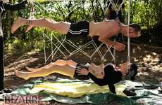 Skin-Piercing Proposals - Alexis Grice Proposes to His Love in This Double-Suspension Marriage