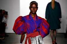 Paint-Box Plaid Apparel - The Libertine Fall Show Brings Graphic Plaid to the Runway