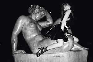 Laetitia Casta Terry Richardson Spead is Turned On by Stony Figures