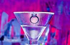 $10,000 Proposals - The Monica Martini by Minus5 Ice Bar Raises a Glass to Fancy Engagements