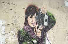 Shutterbug Street Portraits - Jana und JS Paints Colorful Graffiti of Photographers